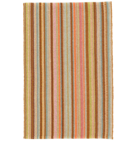 Dash & Albert Zanzibar Ticking Cotton Woven Rug 2X3