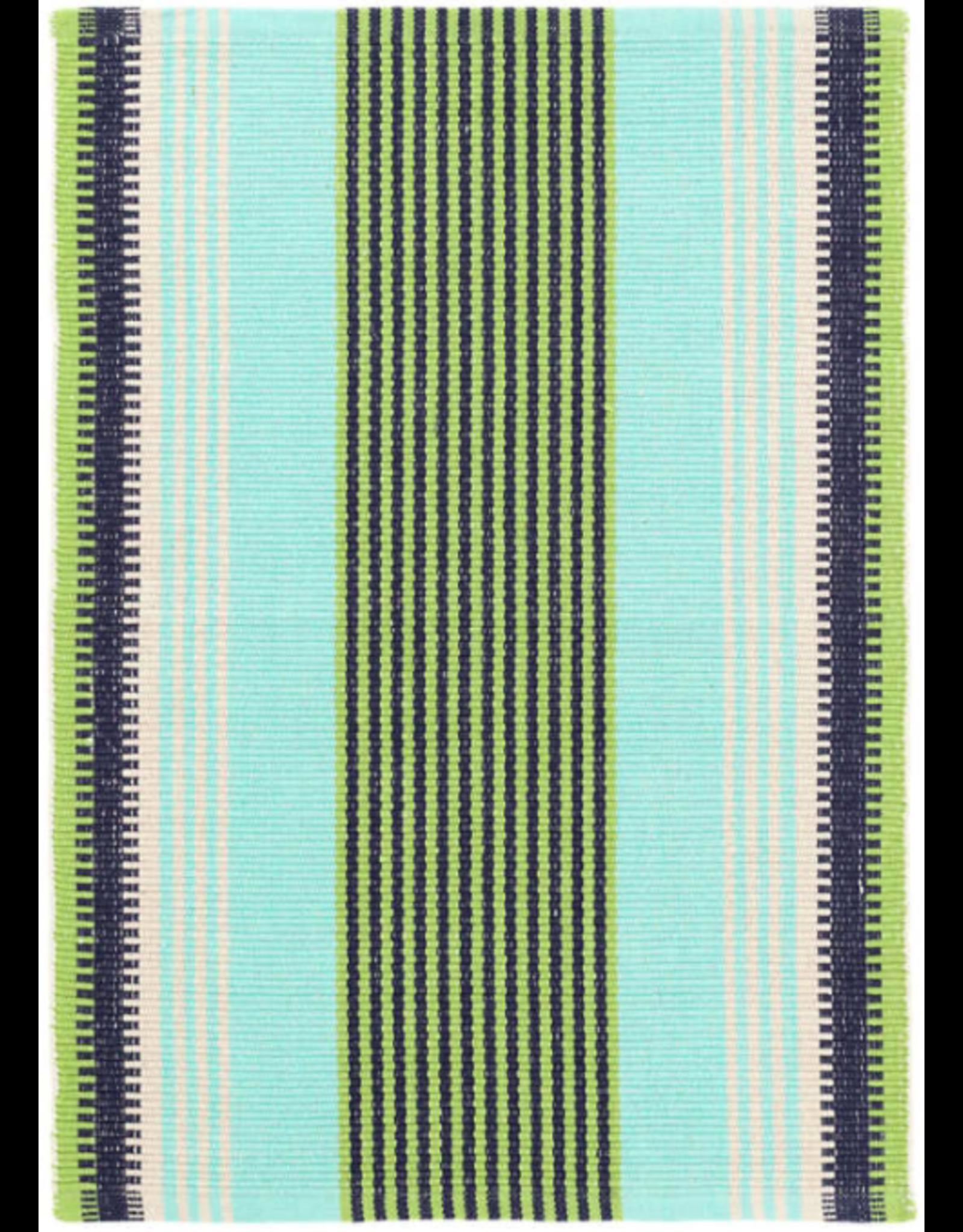 Dash & Albert Hollis Stripe Woven Cotton 2x3