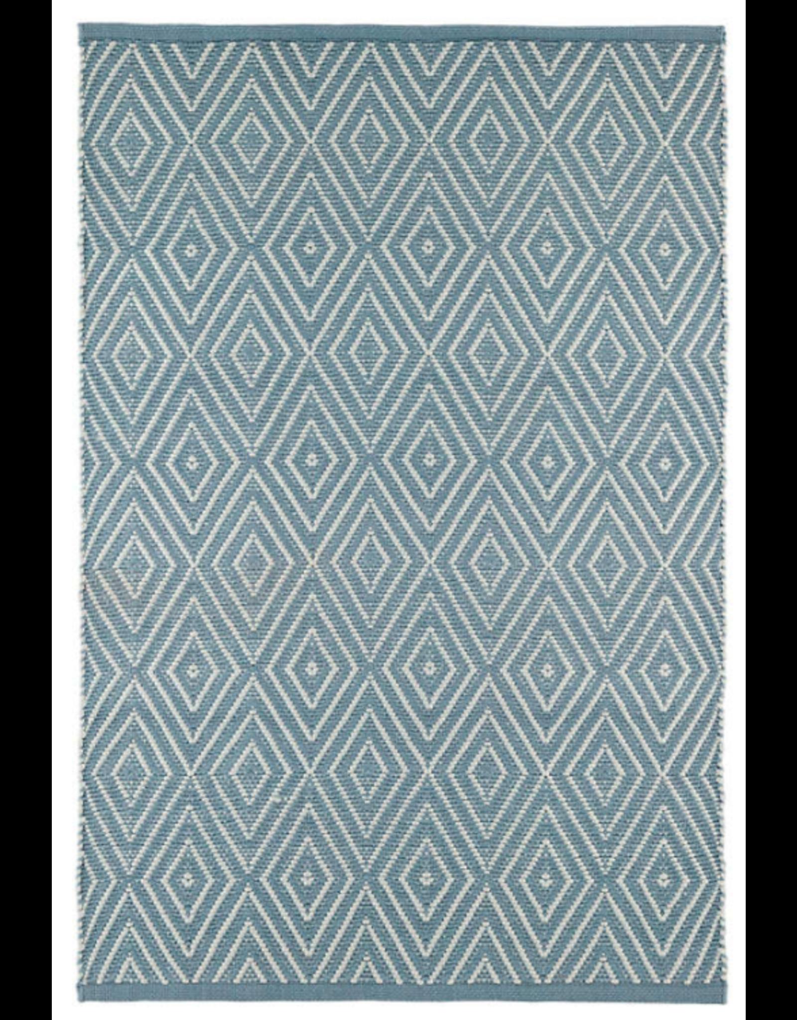 Dash & Albert Diamond Slate Indoor/Outdoor 2x3