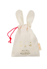 Meri Meri Peach Bunny Baby Booties