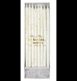 Meri Meri Gold Glitter Birthday Candle