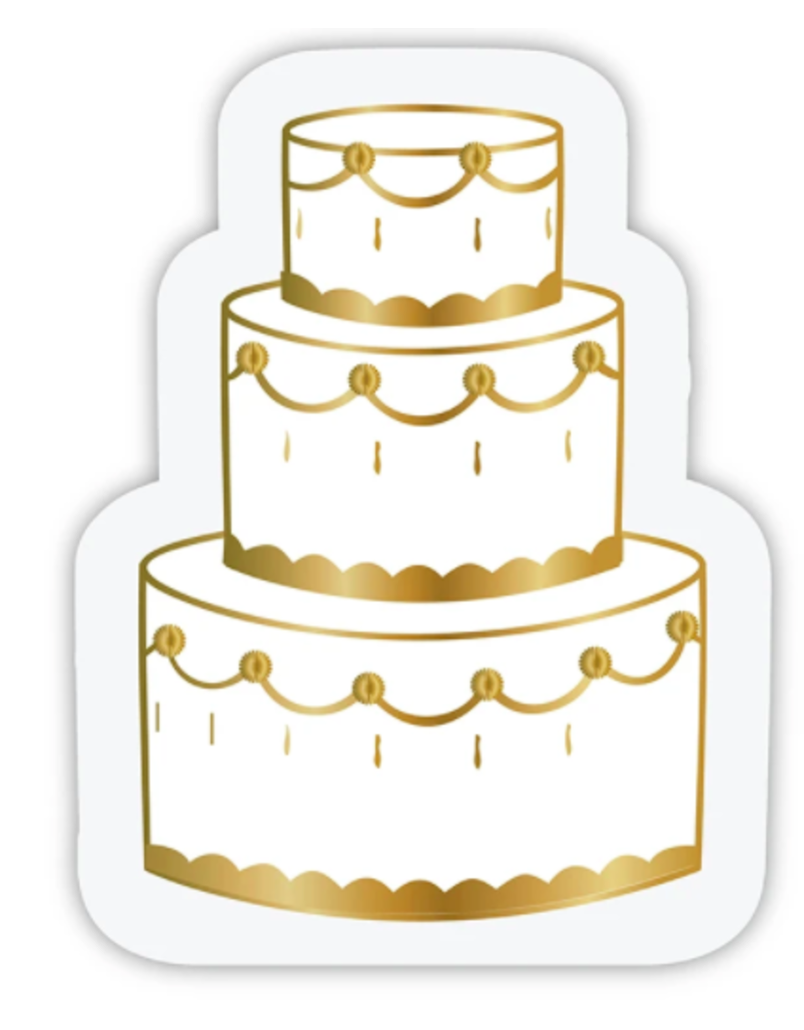 Slant Collections Wedding Cake Napkins
