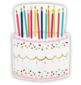 Slant Collections Birthday Cake Napkins