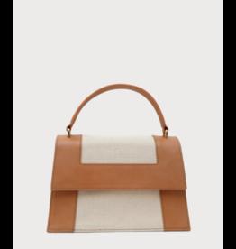 Neely & Chloe Graphic Frame Bag in Vachetta by Neely & Chloe