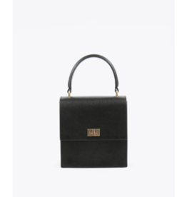 Neely & Chloe The Mini Lady Bag in Black Saffiano by Neely & Chloe