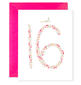 E. Frances Sweet 16 Card