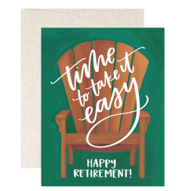 1Canoe2 Retirement Chair Card
