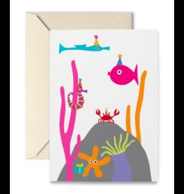 R. Nichols Undersea Birthday Card