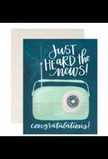 1Canoe2 Congrats Radio Card