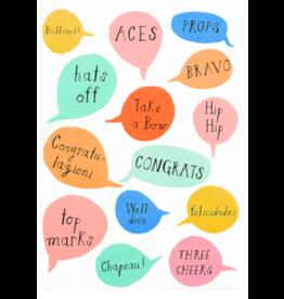Mr. Boddington's Studio Aces Congratulations Card
