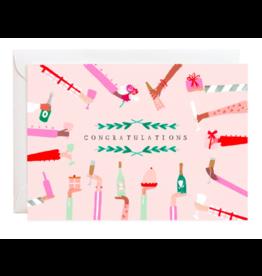 Mr. Boddington's Studio Cheers To You Congratulations Card