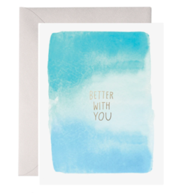 E. Frances Better With You Card