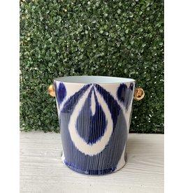 Jill Rosenwald Ice Bucket in Vita Delft by Jill Rosenwald
