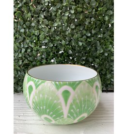 Jill Rosenwald Small Belly Bowl West Palm Kelly by Jill Rosenwald
