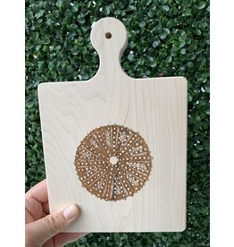 Maple Leaf at Home 9x6 Maple Handled Cutting Board Sea Urchin