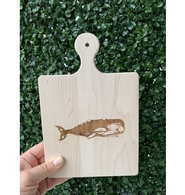 Maple Leaf at Home 9x6 Maple Handled Cutting Board Whale