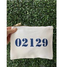 02129 Blue Flat Zip