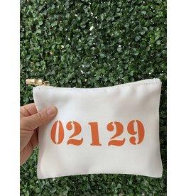 02129 Orange Flat Zip