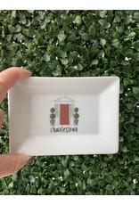 Dishique Charlestown Mini Dish Red