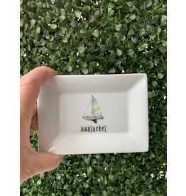 Dishique Nantucket Sailboat Mini Dish