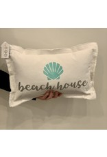 Marshes Fields and Hills Beach House Pillow