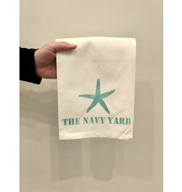 Marshes Fields and Hills The Navy Yard Tea Towel Featuring a Starfish