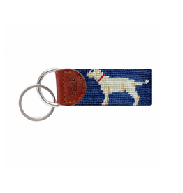 Smathers & Branson Yellow Lab Key Fob