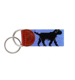 Smathers & Branson Black Lab Key Fob
