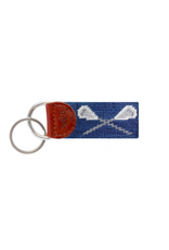 Smathers & Branson Lacrosse Sticks Blue Key Fob