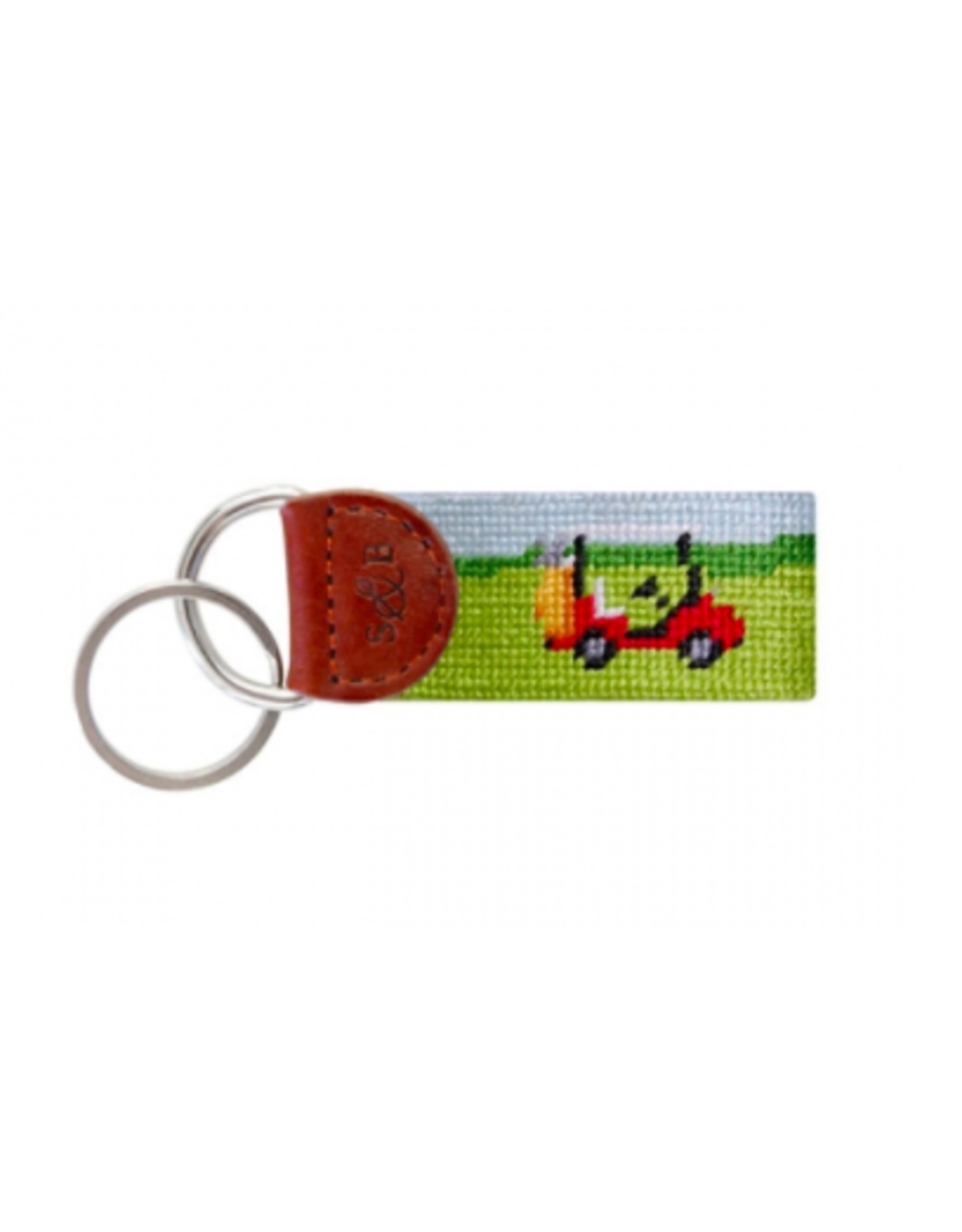 Smathers & Branson Golf Cart Scene Key Fob