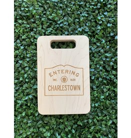 Maple Leaf at Home Entering Charlestown 9x6 Maple Cut Out Handled Board