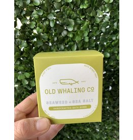 Old Whaling Co. Seaweed & Sea Salt 8oz Bath Bomb