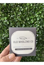 Old Whaling Co. Bergamot & Grapefruit 8oz Bath Bomb