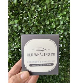 Old Whaling Co. Bergamot & Grapefruit 8oz Bath Bomb