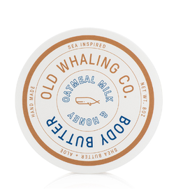 Old Whaling Co. Oatmeal Honey 8oz Body Butter