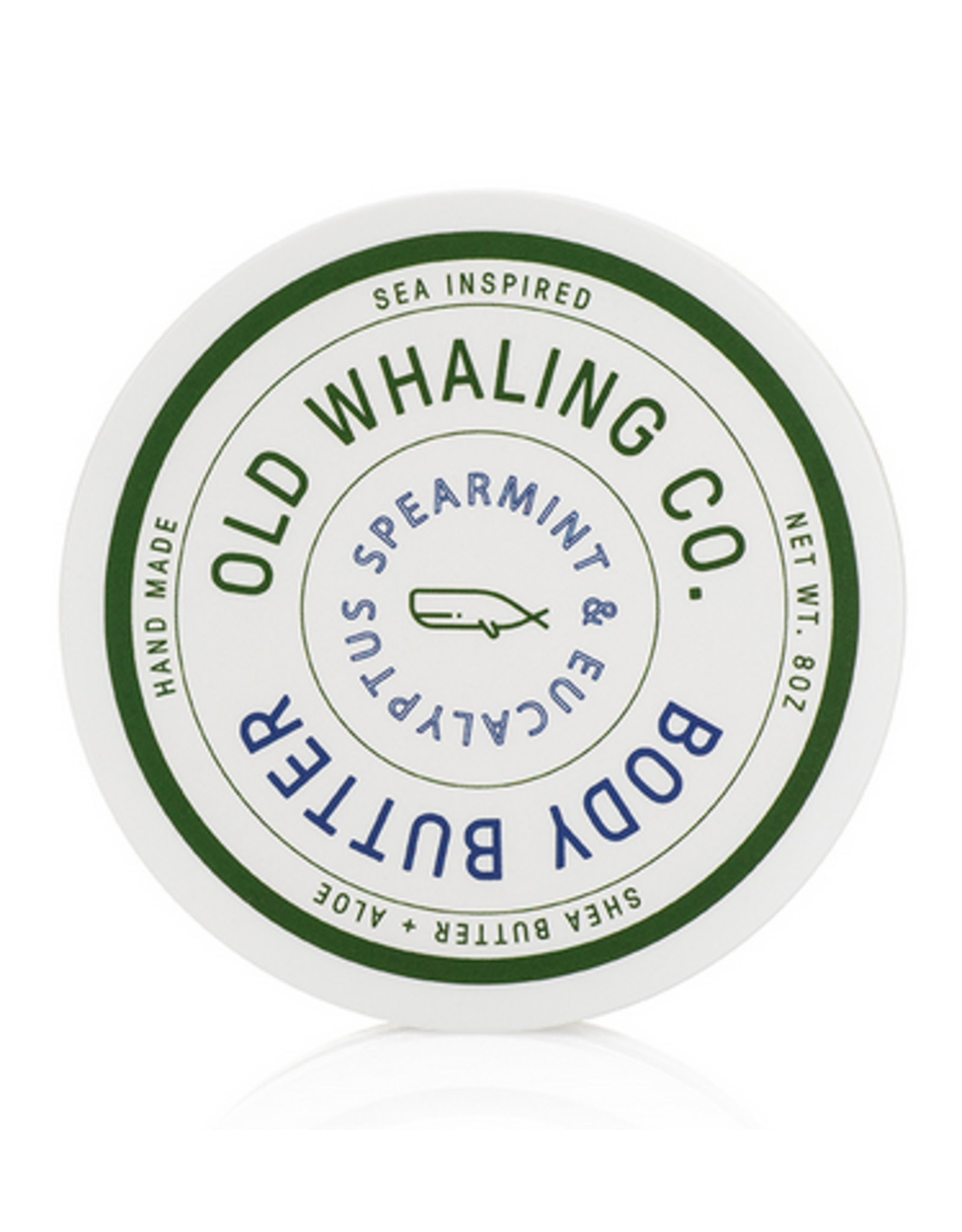 Old Whaling Co. Spearmint & Eucalyptus 8oz Body Butter