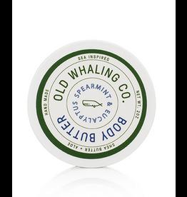 Old Whaling Co. Spearmint & Eucalyptus 2oz Body Butter