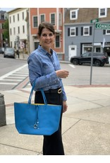 Accessories Shop by Place & Gather Reversible City Tote in Bluebird and Canary