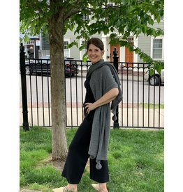 Shit That I Knit Pardy Wrap in Charcoal by Sh*t That I Knit