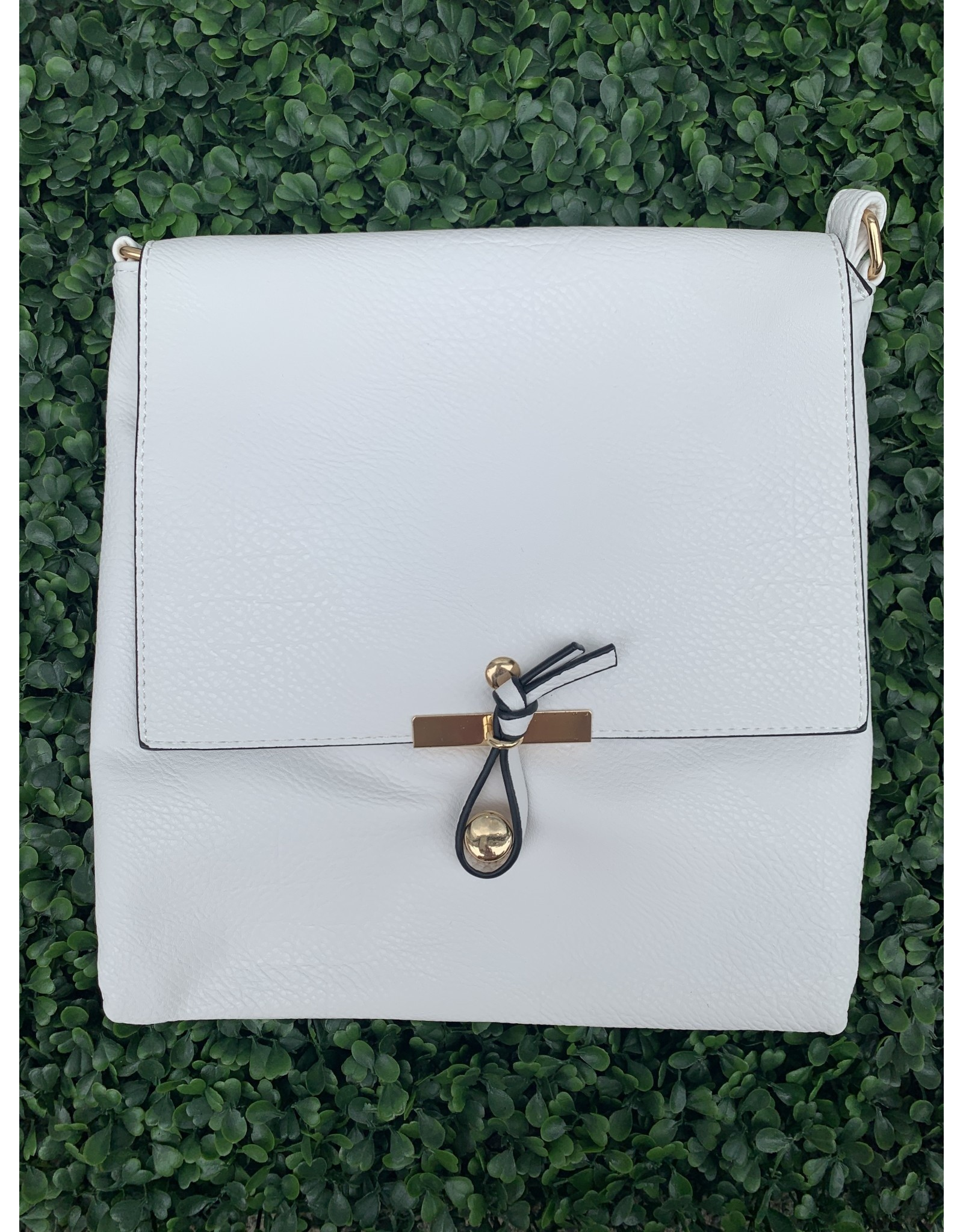 The Everyday Crossbody Large in White