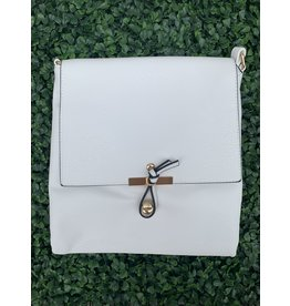 Accessories Shop by Place & Gather The Everyday Crossbody Large in White
