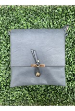 Accessories Shop by Place & Gather The Everyday Crossbody Large in Navy