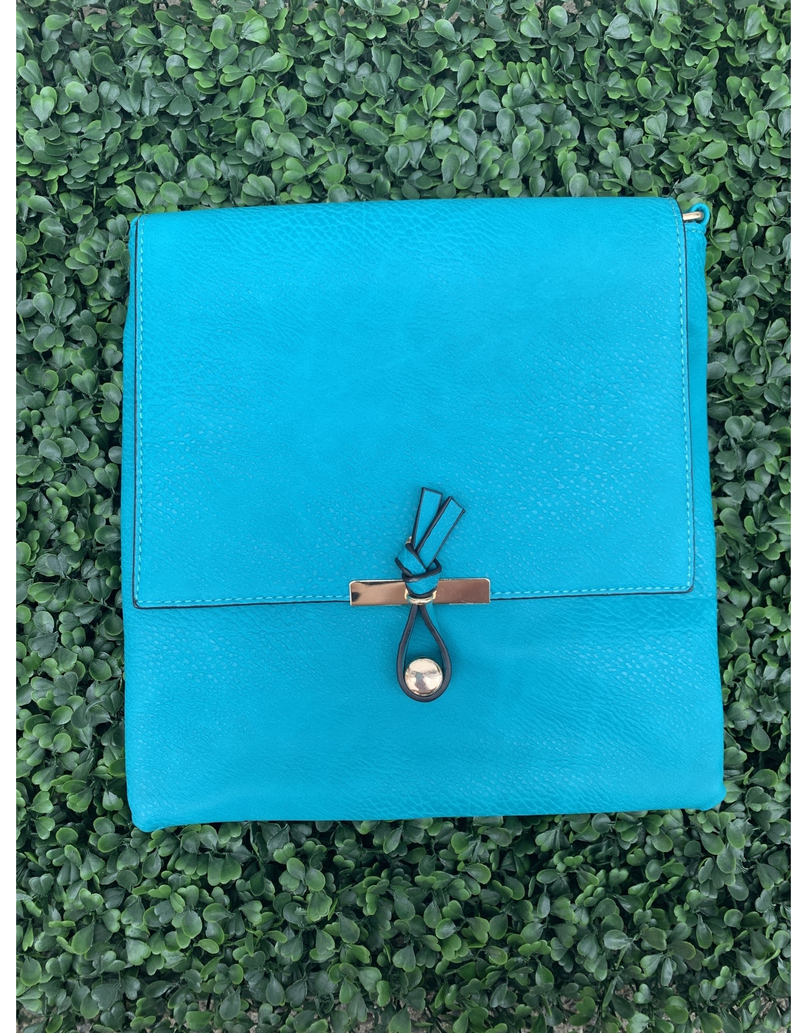 Accessories Shop by Place & Gather The Everyday Crossbody Large in Teal
