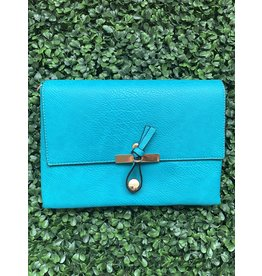 Accessories Shop by Place & Gather The Everyday Crossbody Small in Teal