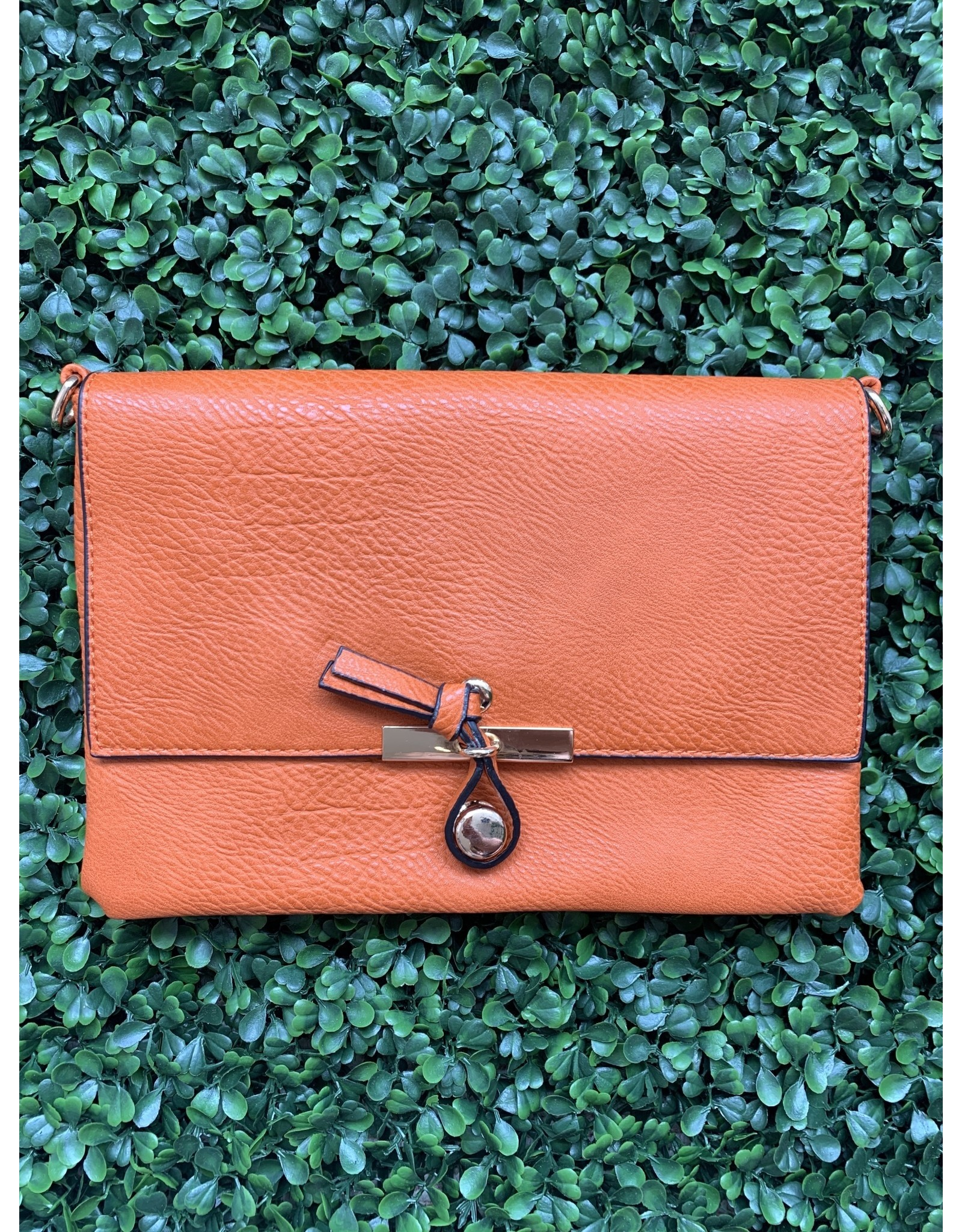 Accessories Shop by Place & Gather The Everyday Crossbody Small in Orange