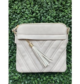 Accessories Shop by Place & Gather Stone Tassel Crossbody Assorted