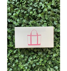 The Joy of Light Beach Bag in Pink Matches