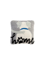 Mini Hooked Dog Home Pillow