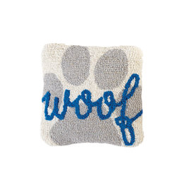 Mini Hooked Dog Woof Pillow