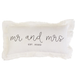 Mr. and Mrs. 2020 Pillow
